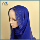 180*80cm High Quality Beautiful Scarf Hijab Fashion Headwear Pure
