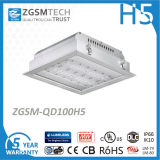 Ce TUV Listed 100W LED Canopy Light with Lumileds 3030 LEDs