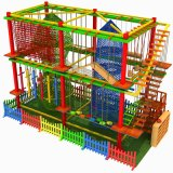 Children's Physical Fitness Development Training Park Large Indoor Rock Climbing Playground Equipment and Equipment Naughty Castle