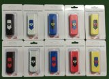 New Fashion Colorful Cigarette Smoking USB Electronic Recharge Lighter