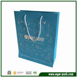 Factory Price Blue Paper Carrier Bag for Promotion