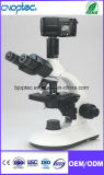 Trinocular Biological Laboratory Microscope with Microscopic Instrument