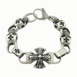 316L Stainless Steel Jewelry Skull Bracelet
