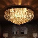 Wholesale Cheap Hotel Decorative Modern Home LED Round Crystal Ceiling Lamp