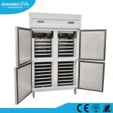 Double Temperature Fan Cooling Gn Freezer with 28 Pans