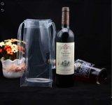 Cheap Fashion Portable PVC Wine Cooler Plastic Packing Bag
