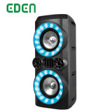 Portable Wireless Professional Rechargeable DJ Karaoke Sound Box Trolley Bluetooth PA Speaker ED-608