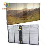 P3.91 Cheap Indoor Full Color Glass LED Transparent Screen