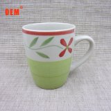New Products Special Hand-Painted Stoneware Mugs Unique Shapes Cheap High Milk Cup for Kids