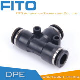 PE Pneumatic Fitting One Touch Air Conncetor by Airtac Type