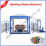 Six Shuttle PP Woven Bag Sack Circular Weaving Knitting Loom Machine