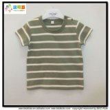 Round Neck Baby Wear Stripe Printing Newborn Shirts
