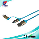 Smart Colorful USB Data Cable Both for iPhone 6 Cable