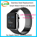 Stainless Steel Replacement Smart Watch Band Link Bracelet for Apple Watch 38mm&42mm
