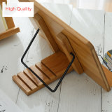 Kitchen iPad Book Stand Holder Reading Bamboo Book Rest Stand
