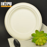 Compostable Disposable Wheat Pulp Food Plates