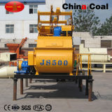 Manufactory Direct Sale Self Loading Twin Spiral Shaft Mobile Concrete Mixer