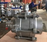 Stainless Steel Low Pad Manual Butt Welding 3PC Ball Valve