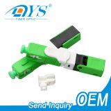 FTTH ESC250d Sc APC/Upc Field Assembly Quick Connector Fiber Optic/Optical Connector Fast Connector for Drop Cable