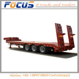Heavy Duty Lowboy Cargo Trailer Low Beds Semi Trailer Truck
