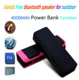 Hot Sale Wireless Portable Bluetooth Speaker Portable with 4000 mAh Power Bank