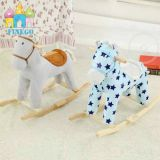2016 Wholesale Kids Wooden Cheap Rocking Horse