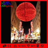 Outdoor Christmas Decoration Huge Hanging Red Ball Light