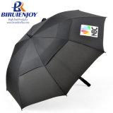 Best Price Long Storm Windproof Vented Golf Umbrella with Custom Logo