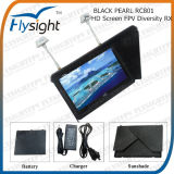 D50 Fpv RC801 Black Pearl 7 Inch Fpv LCD Screen Monitor with 5.8GHz Dual Diversity Receiver