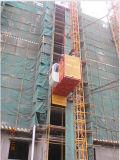 Building Elevator Construction Lift Sc120/120 Max. Load 1.2t Per Cage