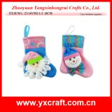 Christmas Decoration (ZY14Y592-1-2) Small Christmas Sock Toy Gift