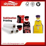 Industrial Light-Weight 80GSM Sticky Bulk Heat Transfer Sublimation Paper