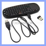 Air Mouse Keyboard Wireless Keyboard with Touchapd and Laser Point Keyboard (Keyboard-187)