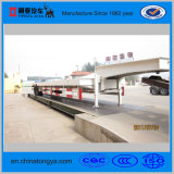 3 axles 50 tons low bed semi trailer for sales