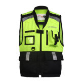 Custom Hi Vis Reflective Safety Motorcycle Vest