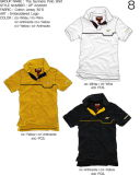 Fashion Nice Cotton/Polyester Embroidery Polo Shirt (P045)