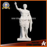 Stone Carving Ancient Roman Style Statue