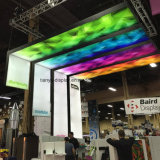 LED Fabric L Shape Lightbox for Advertising Commercial Application Exhibition Booth Display Equipment