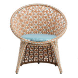 Provence Outdoor Wicker Woven Dining Table & Dining Chair