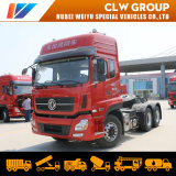 2019 New Type Dongfeng Regional Distribution Truck Tractors 6X4 420HP Powerful 40tons 50t Tractor Head Truck Cheap for Sale