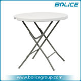 80cm Round HDPE Plastic Fold Table with 1 PC Top