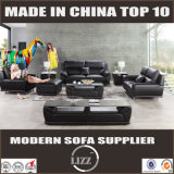 Living Room Leather Modern Sofa (Lz1588)