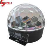 LED Crystal Ball with Pattern for Disco Lighting (HL-056)