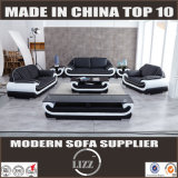 European Style Sectional Leather Sofa (Lz1488)
