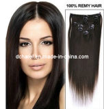 100% Human Hair Clip on Hair Extensions