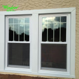 Cheap Single Glass PVC Sliding Window
