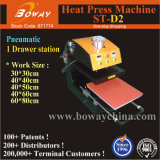 St-D2 Single Drawing out Stations Pneumatic T-Shirt Heat Press Printing Printer Machine