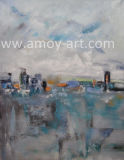 Abstract City-Cape Oil Painting for Home Decoration