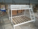 Wooden Furniture White Solid Wood Bunk Bed