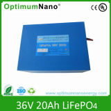 36V 20ah Lithium Battery for Electric Bike